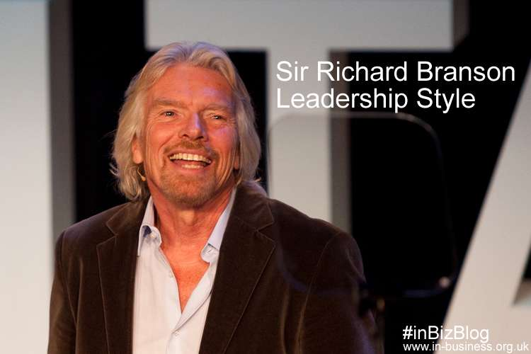 Sir Richard Branson Leadership Style