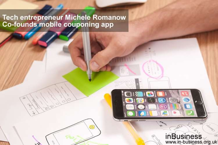 Tech entrepreneur Michele Romanow co-founds mobile couponing app