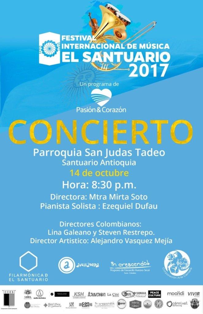 Nuestra participación en el Festival Internacional de Música El Santuario