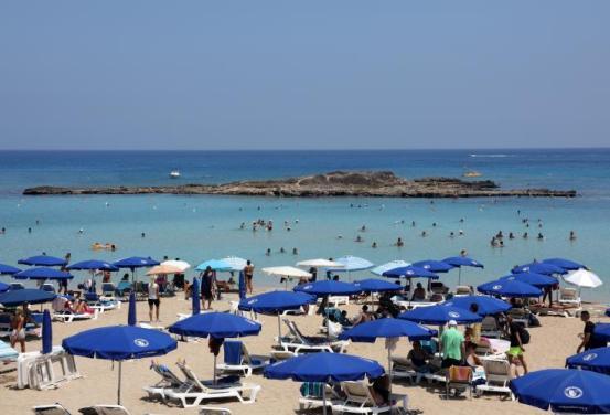 Τα έσοδα από τον τουρισμό στην Κύπρο μειώθηκαν κατά 74,1% τον Οκτώβριο, 85,1% τους πρώτους δέκα μήνες του 2020