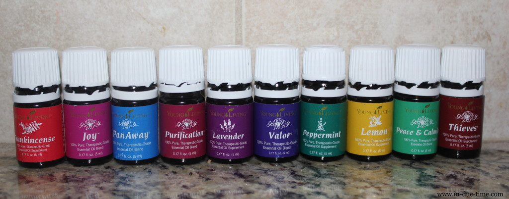The 11 Essential Oils that come in the Young Living Starter Kit