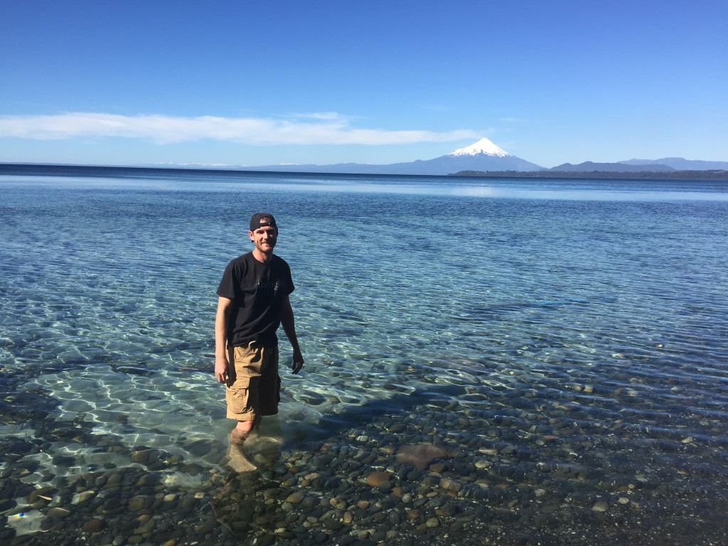 Our backyard/private beach! Lake Llanquihue