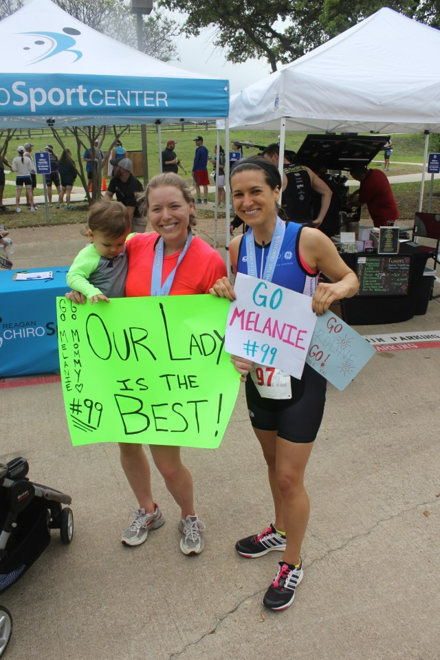 My Third Triathlon - 1st place