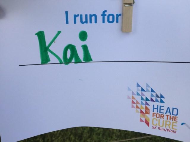 Team Kai Head for the Cure