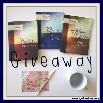 Passion Translation Giveaway