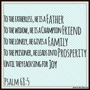 Psalm 68 - In Due Time Blog