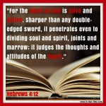 Hebrews 4:12 – Word of God #115
