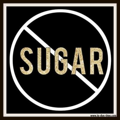 Don't Eat Sugar - In Due Time Blog