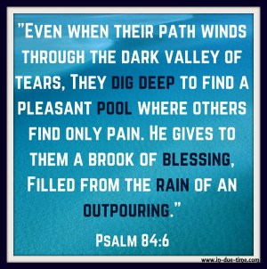 Psalm 84 - In Due Time Blog