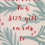 Christmas with Minted + Giveaway for 2 $125 Gift Cards