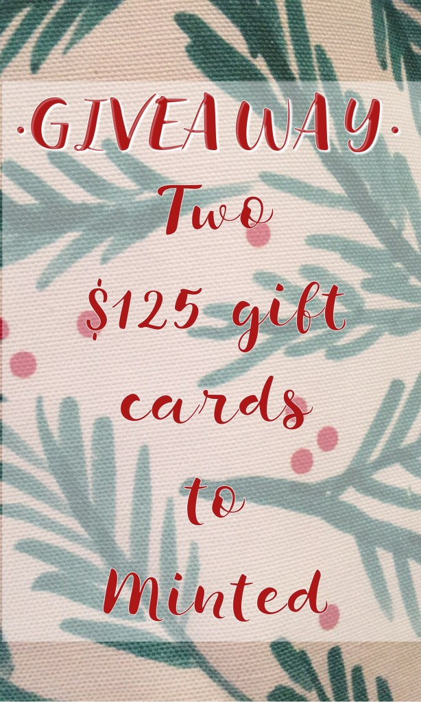 Giveaway to Minted