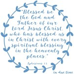 Ephesians 1:3 Spiritual Blessings #197