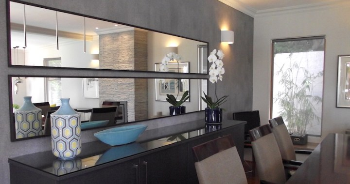 dining room mirror | IN FORM DESIGN – making space for you