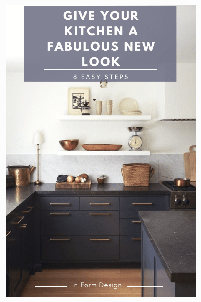 Give your kitchen a fabulous new look in 8 easy steps