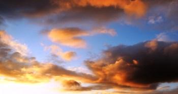 Der Himmel über Bergisch Gladbach