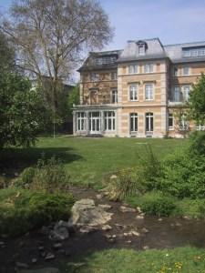 Die Strunde an der Villa Zanders