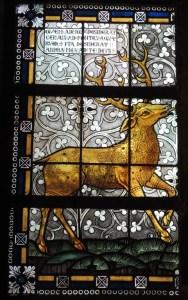 Das Hirschfenster in der Laurentiuskirche