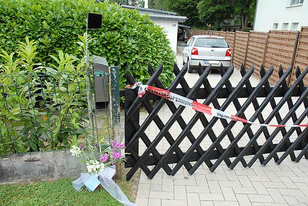 Der Tatort Am Klutstein in Schildgen