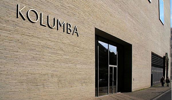 Der Haupteingang zu Kolumba, Köln