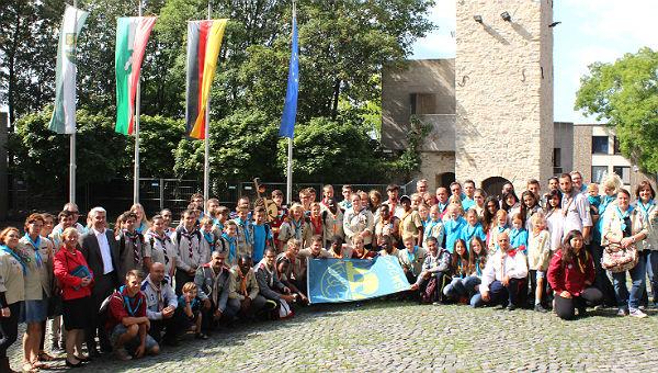 Teilnehmer des 5. International Scout Meeting – ISM 2014 im Bensberger Rathaushof