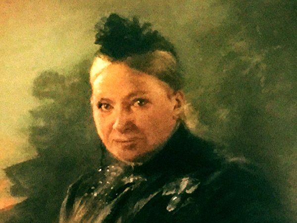 Maria Zanders, Ölgemälde aus der Sammlung der Villa Zanders,