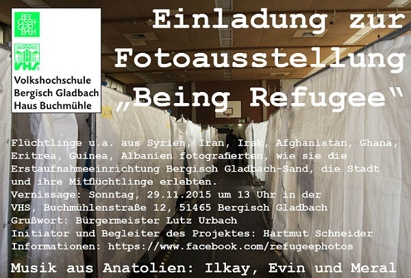 Being Refugee Einladung 600