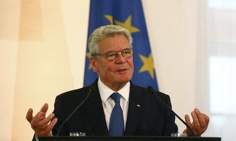 Joachim Gauck bei der Interkulturellen Woche. Foto: Bundespräsidialamt