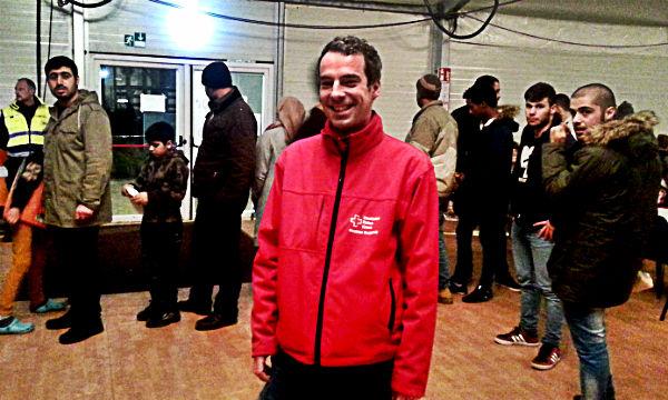 Matthias Burghardt, Ethnologe und Leiter der DRK-Unterkunft in Katterbach