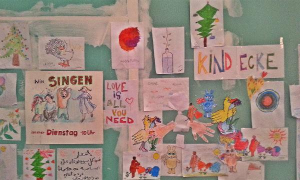 In der Kinderbetreuung helfen viele Ehrenamtler mit