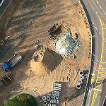 Die Baustelle Schnabelsmühle. Foto: BergischSchön