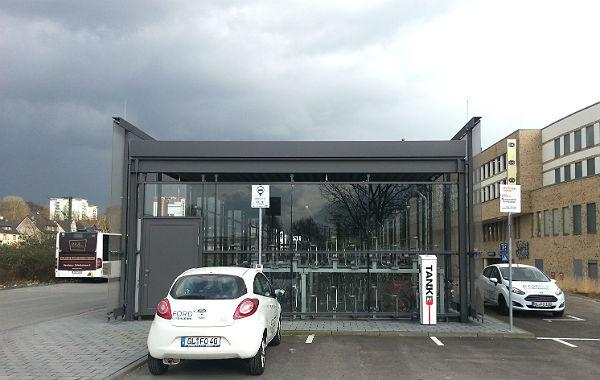 Die Fahrrad- und Umweltstation in Bergisch Gladbach