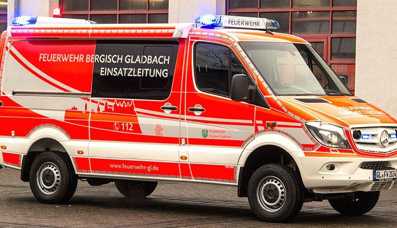 Der neue Einsatzleitwagen der Feuerwehr Bergisch Gladbach