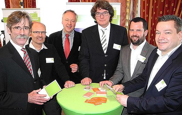 Vertreter von Best of Bergisch mit Baurat: Klein, Schmickler,