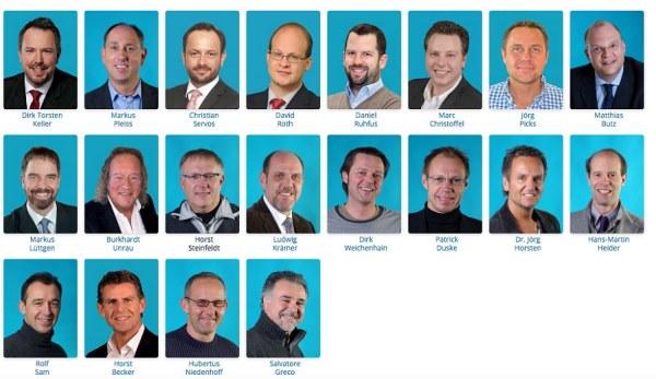 Aktuell hat der JUC 20 Mitglieder, über die Jahre hinweg waren es insgesamt 56