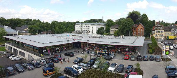 Der Gronauer Campus zwischen Hauptstaße, Gronauer Mühlenweg, Refrather Weg und Richard-Zanders-Straße, Bergisch Gladbach