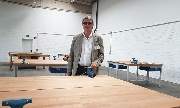 Udo Hermesdorf, geschäftsführender Vorstand des VESBE e.V.