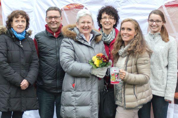Anna Staub-Herzog, Gerald Gronewald, Helene Hammelrath, Renate Gronewald, Stephanie Witt-Loers und Lea Gronewald