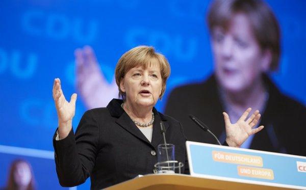 Angela Merkel ist Kanzlerin und Spitzenkandidatin der CDU. Foto: CDU