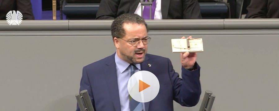 Harald Weyel (AfD) im Bundestag