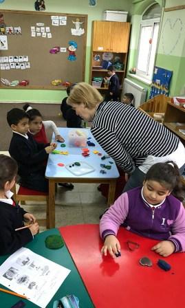 IGP-Schulleiterin Angelika Wollny auf Besuch in St. Aphram.