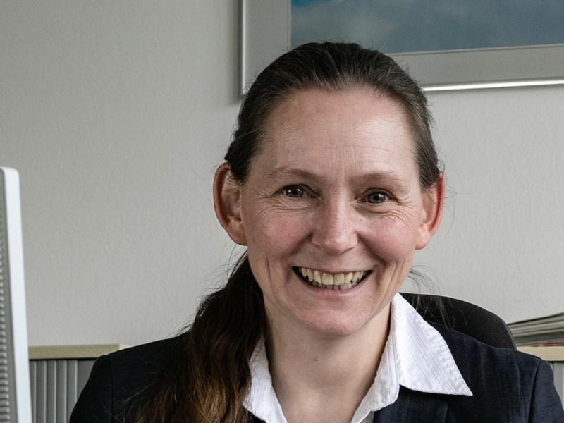 Nicole Jordy, Vorsitzende der Geschäftsführung der Agentur für Arbeit Bergisch Gladbach