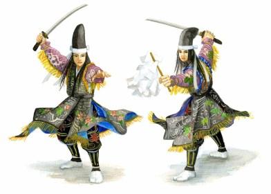 Hiroshima Kagura Dancers (Heroes)