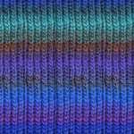 kureyon-40 blue multi yarn