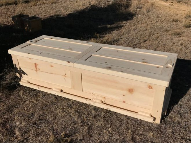 Pine Box Casket