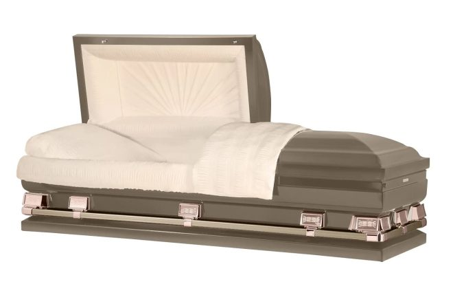 oversized casket
