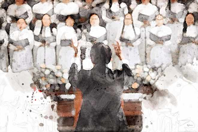 Choir of Funeral Hymn