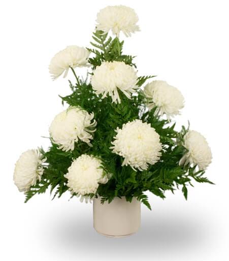 Chrysanthemum Funeral Arrangement