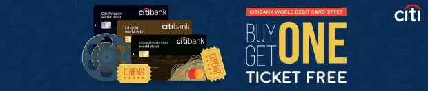 Citibank World Debit Card - Buy One Get One Free Online Movie Ticket Offer - BookMyShow