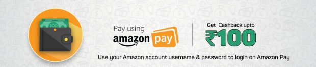 Amazon pay Rs 100 cashback offer Online Movie Ticket Offer - BookMyShow