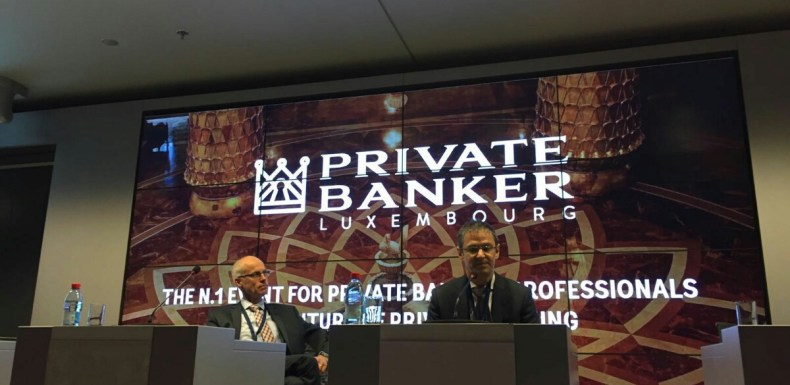 Peter Schramme at risate Banker Luxembourg